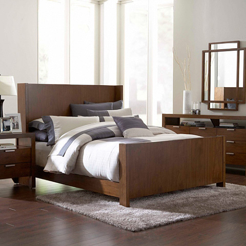 Broyhill 8051 Queen Bed Set(Q침대+협탁)(매트별도)