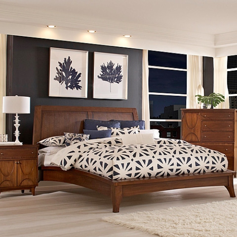 Broyhill 4277 Queen Bed Set(Q침대+협탁)(매트별도)