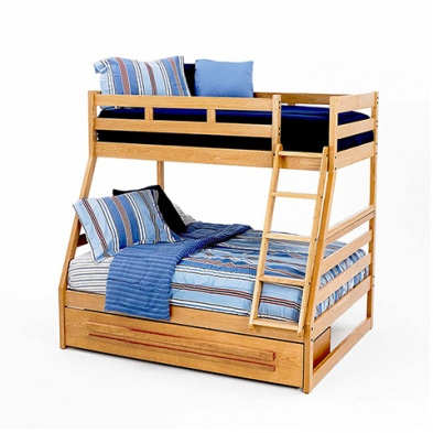 [주니어수입가구] New Classic Junior BK 95 Casual Oak Bunk Bed