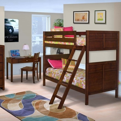 [주니어수입가구] New Classic Junior 060 Kensington Twin / Twin Bunk Bed