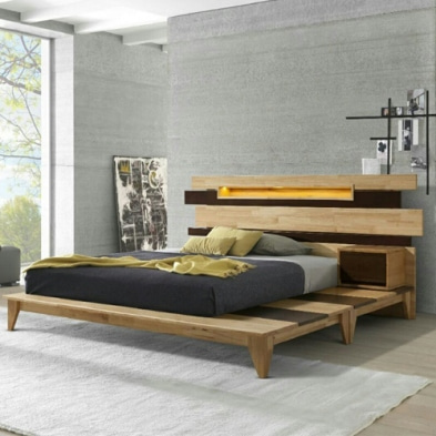 J&D Home Type B Modern Bed Set(매트별도)(침대/ Free Size)