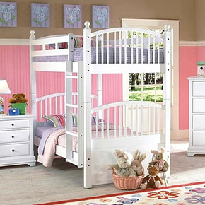 [주니어수입가구] New Classic Junior 1415 Bay Front Bunk Bed